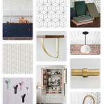 Pinterest images of kitchen inspiration in a grid